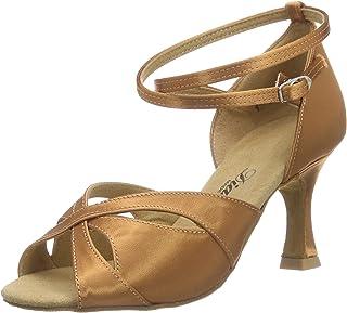 Diamant Damen Latein Tanzschuhe 141-087-379, Chaussures de Danse de Salon Femme