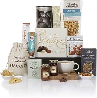 comprar comparacion Cesta de comida navideña gourmet - Cestas de Navidad de lujo y canastos de regalo de comida - Ideas de regalo como cumplea...