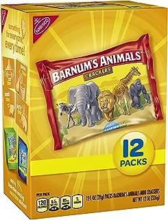Barnum's Mini Animal Crackers Snack Packs, 12 Count Box (2 pack)