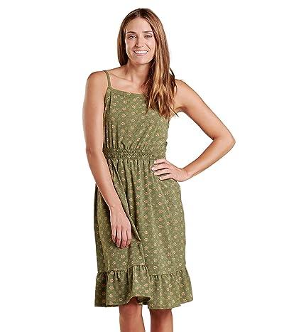 Toad&Co Sunkissed Bella Dress (Bronze Green Medium Bandana Print) Women