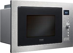 Caso EMCG32 Integrado 32L 1000W Negro, Acero inoxidable - Microondas (Integrado, 32 L, 1000 W, Botones, Giratorio, Negro, Acero inoxidable, 1100 W)