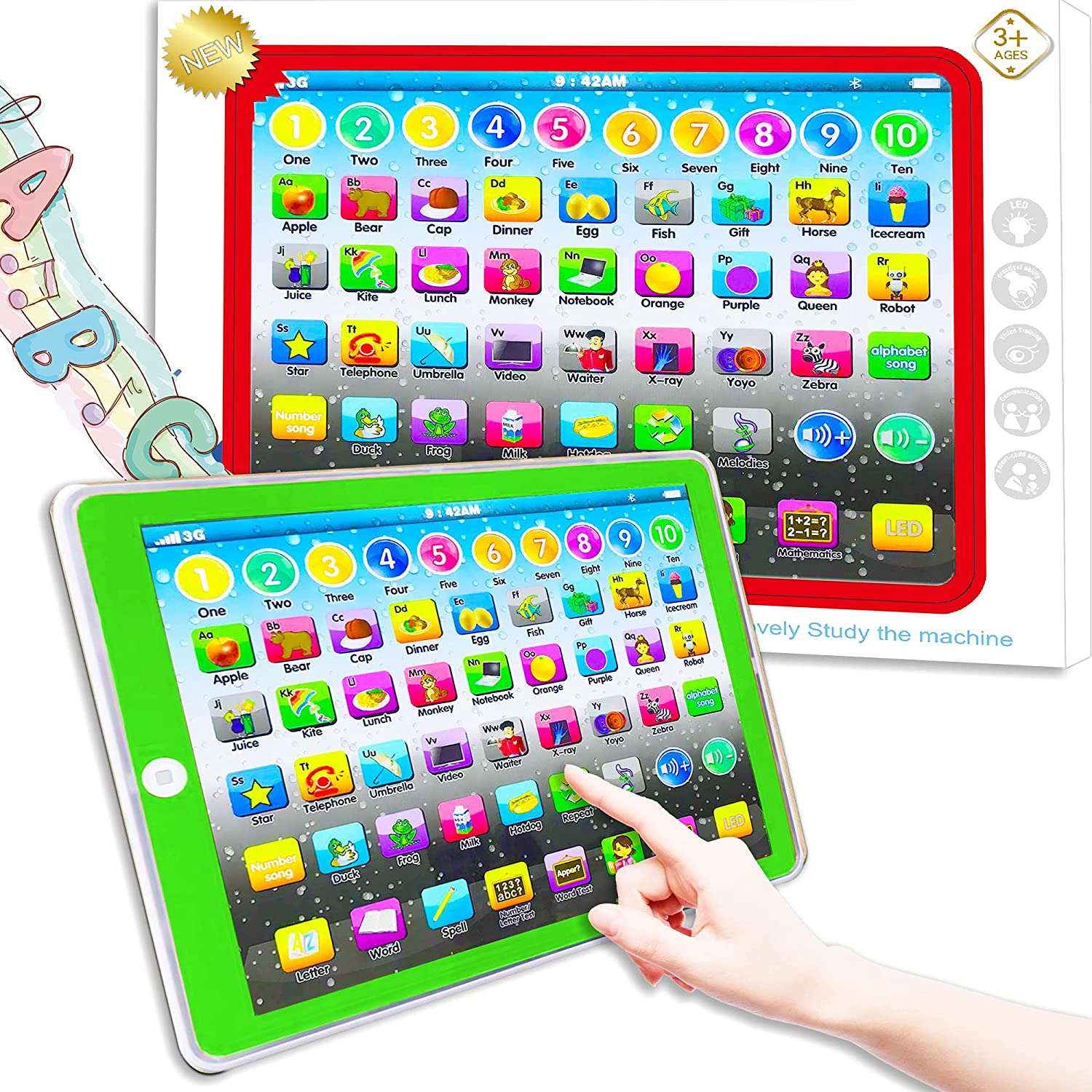 Learning Year-end gift Tablet Toy Baby 55% OFF Early Preschool Child Education