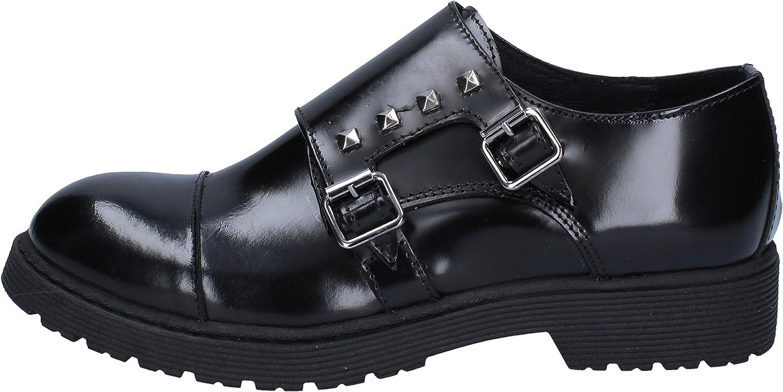 ISLO Elegante Schuhe Damen Leder schwarz