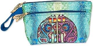 Laurel Burch Cosmetic Bag Coin Purses (C. Turquoise)