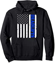 Distressed American Flag Deadlift Shirt, Gym Workout Pullover Hoodie