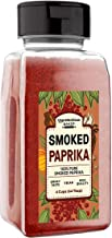 Smoked Paprika (4 Cups) A Flavorful Ground Spice Made from Dried Red Chili Peppers, Wood Smoked for a Strong & Smoked Flavor, Convenient Shaker Bottle