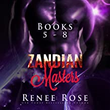 Zandian Masters, Books 5-8: Alien Warrior Romance