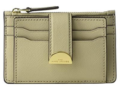 Marc Jacobs Half Moon Multi Card Case (Khaki) Handbags
