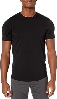 Peak Velocity Amazon Brand Men's Pima Cotton Modal Crew Neck Tee