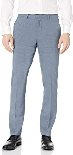 بنطلون رجالي من Perry Ellis ضيق من قماش غير قابل للكي، قابل للتمدد، سروال