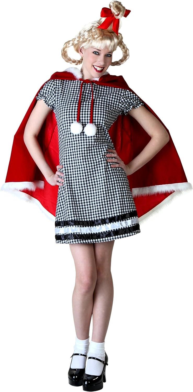 distribución global Wohombres Christmas Christmas Christmas Girl Fancy dress costume Small  100% autentico