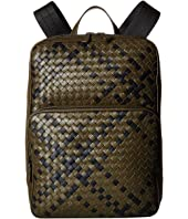 Bottega Veneta - Intrecciato Tartan Backpack
