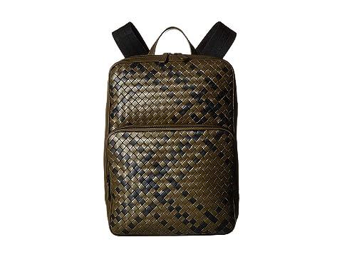 Bottega Veneta Intrecciato Tartan Backpack