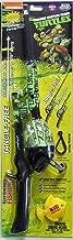 Kid Casters Telescopic Teenage Mutant Ninja Turtle No Tangle Fishing Rod/Reel Combo , Green