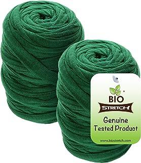 Biostretch, Soft Stretchy Garden Twine Environmentally Smart Non Twist Wire Plant Ties (Bio Roll x 2)