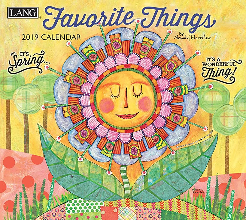 The LANG Companies Favorite Things 2019 Wall Calendar (19991001857)