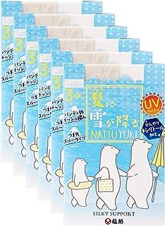 [フクスケ] シルキーサポート 夏に雪が降る(NATSUYUKI) 涼感パンスト 6足組(3P×2)
