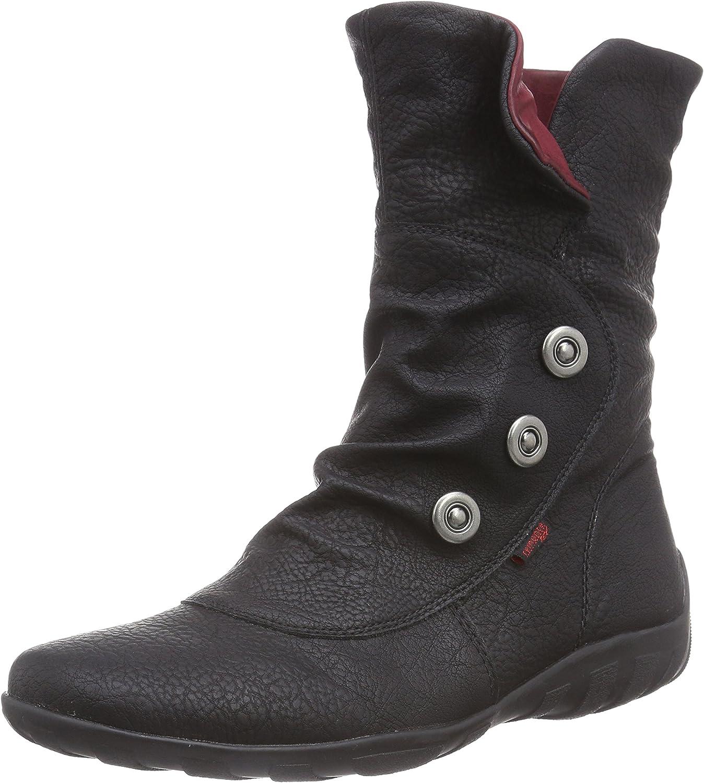 Remonte Women Boots Black, (black Wine) R3479-01