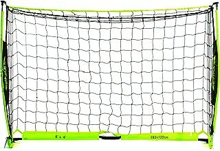 Franklin Sports Blackhawk Deluxe Flexpro Portable Soccer Goal - Green, 6' x 4'