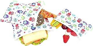Wegreeco Reusable Sandwich & Snack Bags - Set of 3 - (Robert)