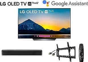 LG OLED OLED55B8PUA B8 55 inch OLED55B8 55 Class 4K Smart OLED TV w/LG SK1 Soundbar w/Wall Mount Kit w/HDMI Cable - LG Authorized Dealer