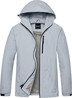 Wantdo Men's Breathable UV Protection Packable Quick Dry Skin Coat Windbreaker