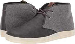 Dark Grey Wool/PU