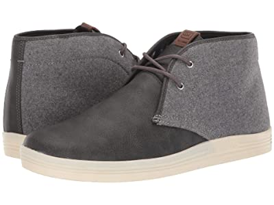 Ben Sherman Payton Chukka (Dark Grey Wool/PU) Men
