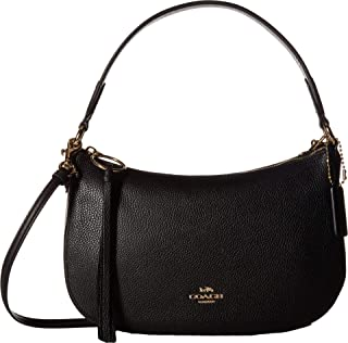Women's Polished Pebble Leather Sutton Crossbody