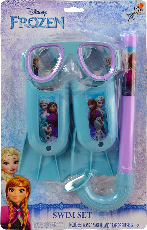 Swim Pool Games  Disney Frozen  3pc Swim Set on Blister Card New 27831FRZ