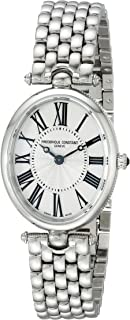 Frederique Constant Women's FC200MPW2V6B Art Deco Stainless Steel Watch