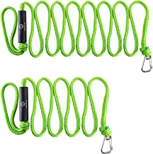 Obcursco Premium PWC Dock Lines, Heavy Duty Braided Line, Marine Rope, Ideal for Jet ski,watercraft Boat, Kayaking, Marine Sets of Two Ropes, 1/2 Inch Diameter x 7ft & 14ft Lengths.