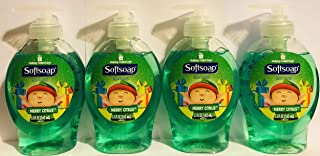 Softsoap Hand Soap - Holiday Collection - Merry Citrus - Net Wt. 5.5 FL OZ (162 mL) Per Bottle - Pack of 4 Bottles
