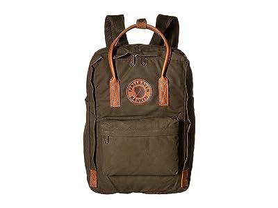 Fjallraven Kanken No. 2 Laptop 15 (Dark Olive) Bags