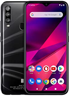 "BLU G9 Pro -6.3"" Full HD Smartphone with Triple Main Camera, 128GB+4GB RAM -Black"