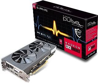 Sapphire Technology Technology Radeon 11266-04-20G Pulse RX 570 4GB GDDR5 Dual HDMI/ DVI-D/ Dual DP OC with Backplate (UEFI) PCI-E Graphics Card