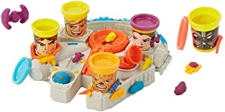 Play-Doh Star Wars Millennium Falcon Featuring Can-Heads - Tie Fighter, X-Wing Exclusive with 10 Can Heads - Featuring Luke Skywalker, Han Solo, Princess Leia, Chewbacca and Darth Vader by Disney