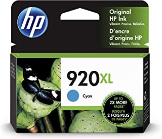 HP 920XL | Ink Cartridge | Cyan | CD972AN