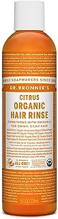 Dr. Bronner's Fair Trade & Organic Hair Conditioning Rinse - Citrus Orange, 8 Ounce