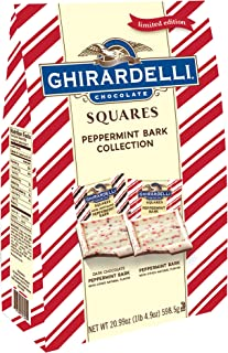 Ghirardelli Limited Edition Peppermint Bark XXL Bag, oz. Milk Chocolate XXL, 20.99 Ounce