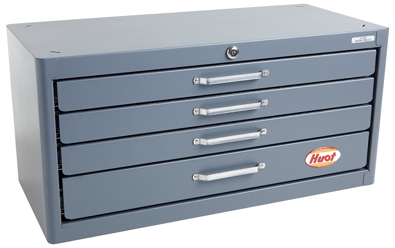 Huot Long Beach Mall 13180 Four-Drawer Mail order cheap Master Dispenser for Cabinet Drill Metric
