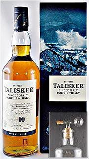 Talisker 10 Jahre Single Malt Whisky  1 Glaskugelportionierer