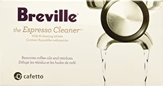 Breville BEC25000US1 BEC250 Espresso Cleaning Tablets (8), white