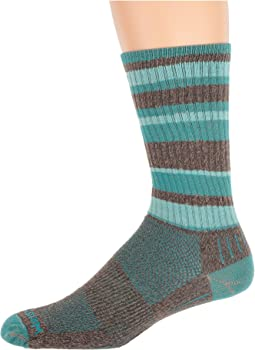 Brown/Teal Stripe