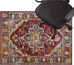 Office Chair pad Chair Floor mat Low Pile Carpet Non Slip Chair Mat Silent Floor Protector Mat for Wooden Floors Ceramic T...