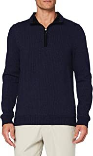 Pierre Cardin Men's Sweat-Shirt Minimal Check Sweatshirt