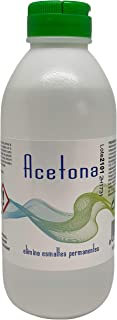 Linsa Quita Esmaltes - Acetona Pura para Retirar Esmaltes Semipermanentes Barnices Geles y Pegamento de Uñas en Uñas Ac...