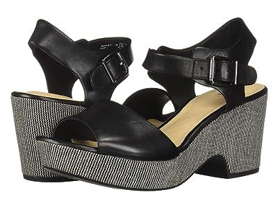 Clarks Maritsa Janna (Black Leather) High Heels