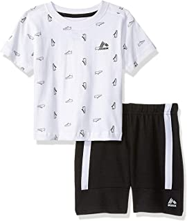 RBX Baby Boys' 2 Piece Performance Top and Short Set