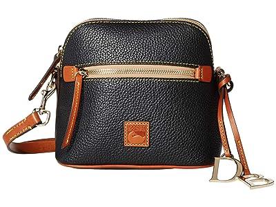 Dooney & Bourke Pebble Domed Crossbody (Black) Handbags